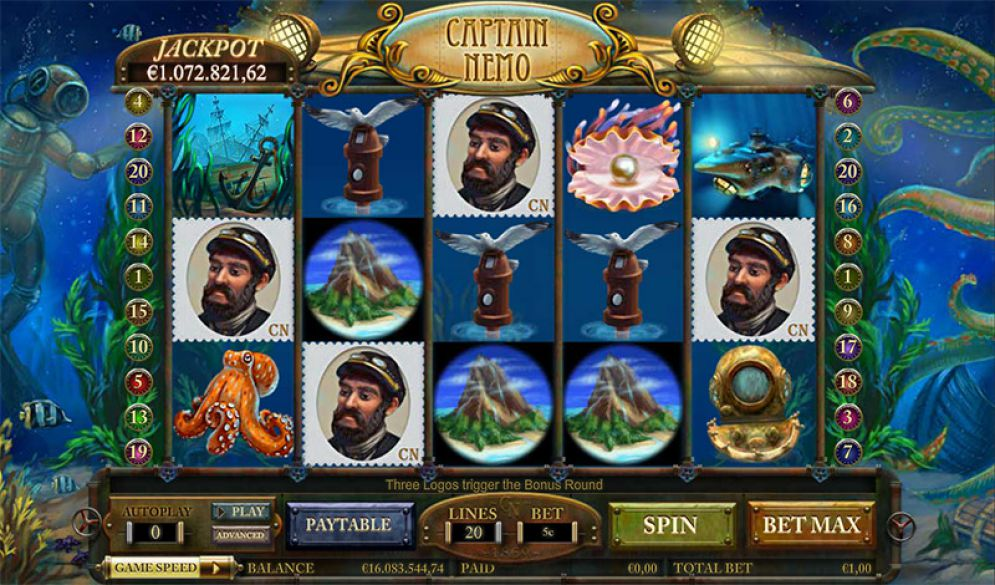 Captain-Nemo-Video-Slots-Game