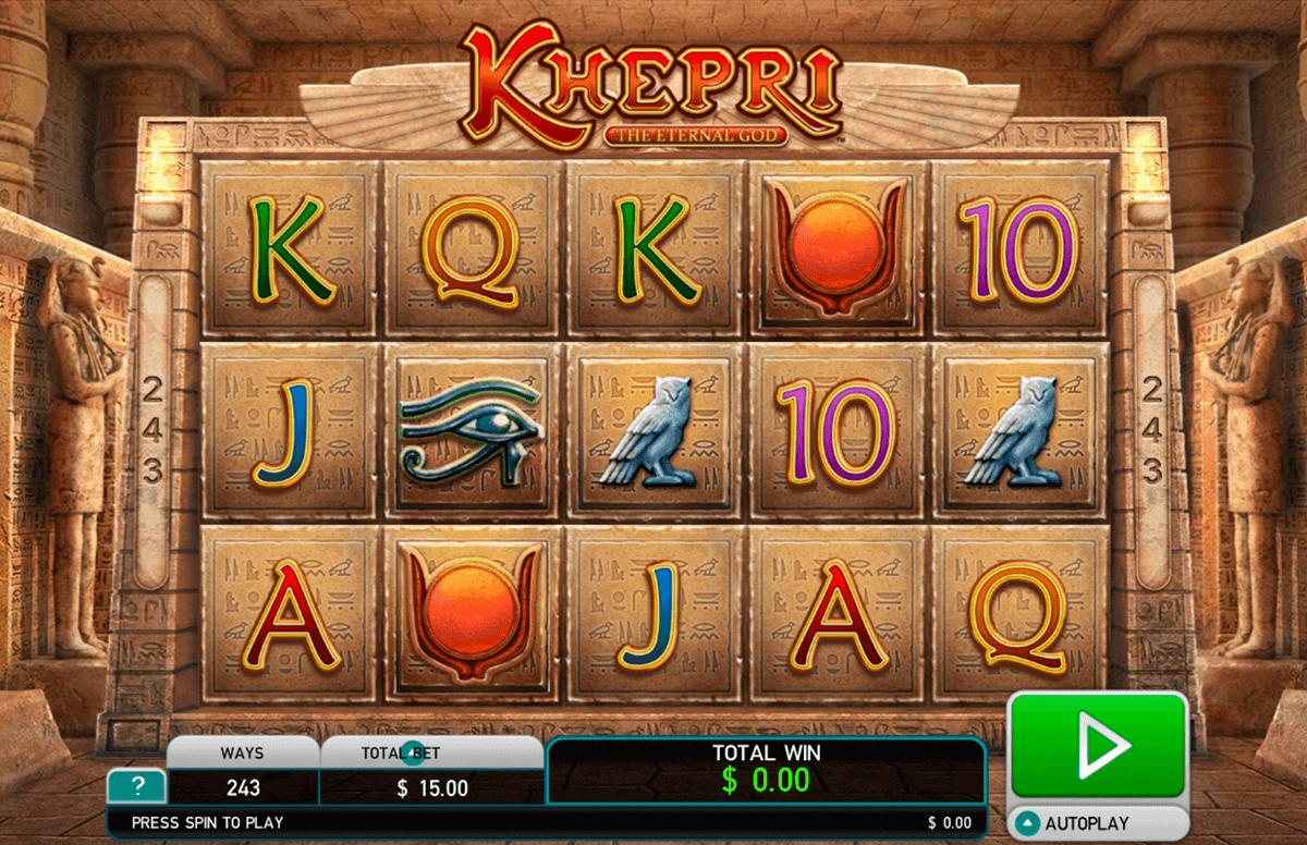 Khepri-New-Video-Slots